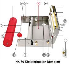 Tapofix Ersatzteil Nr. 70 Kleisterkasten komplett - für Kleisterm. CB 70 N -