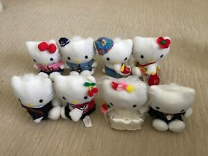 Vintage 1999 Hello Kitty Collection 8 pieces McDonald's Limited Edition