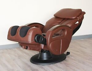 Cozzia 16019 Shiatsu Massage Chair Recliner with Auto Scanning Brown or Black