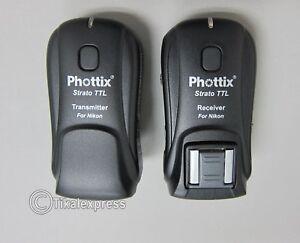 Phottix Strato TTL Trigger Set for Nikon (PH89021) - Photographic Equipment
