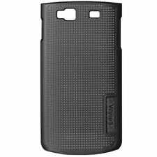 COQUE SAMSUNG WAVE 3 S8600 MICROPERFORÉE NOIR SILICONE RIGIDE (TPU)
