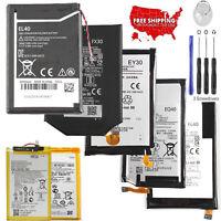 New GA40 EQ40 FC40 FX30 Battery for Motorola Moto X Z Play E2 3 4 G2 3 4 5S Plus