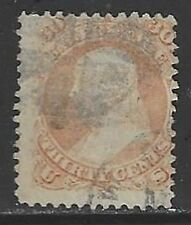 U.S. Used Scott # 71 30 Cent Orange Reg. Issue 1861 - 62