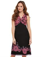JOE BROWNS BNWT Womens Floral Twist Dress Size 10 RRP £50
