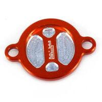 Orange Oil Filter Cap Cover For KTM SXF XCF EXCF XCFW 250 350 400 450 505 530