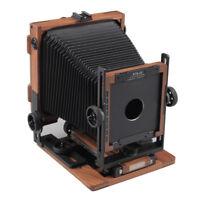 "Brand New PTB45 Shen Hao Walnut Wood Field Folding 4X5"" Large Format Camera"