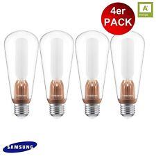 4X SAMSUNG LED Leuchtmittel Retro 18 E27 2,6W = 18W 170lm 330º A+ GA8WH7003HQ0EU