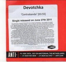 (DJ576) Devotchka, Contrabanda - 2011 DJ CD