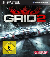 Play Station 3 Spiel PS3 Grid 2 - Limited Edition mit Anleitung