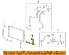 Chevrolet GM OEM 12-15 Camaro 6.2L-V8 Intercooler-Lower Hose Left 22789482