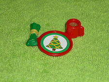 Fisher Price Loving Family Dollhouse Christmas Tree Plate with Hot Cocoa