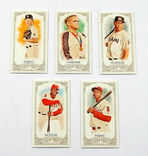 Lot of (5) 2012 Allen & Ginter Mini No Card Number Stanton Hunter Street