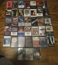 38 Cassette Tapes Classic Rock Pop The Doors Johnny Cash Santana Clapton B Seger