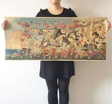 Miyazaki Hayao Totoro Spirited Away Mononoke Hime Poster Vintage Paper Decorate
