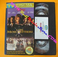 VHS film I TRE MOSCHETTIERI Sheen Mornay TV SORRISI CANZONI (F121) no dvd