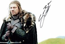 Sean BEAN Signed Autograph 12x8 Game of Thrones Ned Stark Photo AFTAL COA