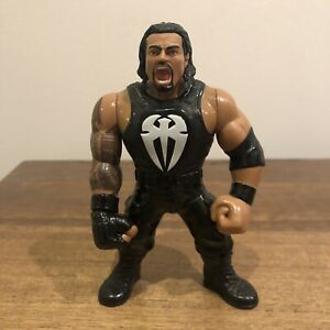 WWF/WWE Roman Reigns Mattel Retro Action Figure Near Mint
