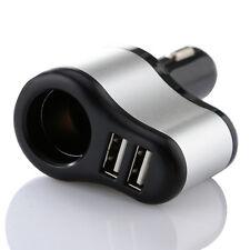 5V DC 2in1 Car  Lighter Charger Adaptor Dual USB 2-Port for Mobile Phone Tablet