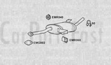 Exhaust Middle Box Nissan Terrano II 2.7 Diesel Van 11/2000 to 12/2006