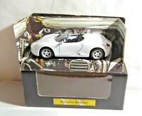 CLASSIC SPORTS CAR COLLECTION 1:38 DIECAST - PORSCHE BOXSTER - WHITE - BOXED