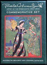 Tarot Commemorative Set Rider Waite Pamela Colman Smith Books Deck Cards Photo