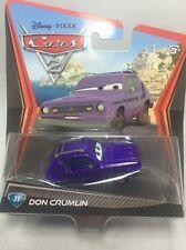 "2011/2012 Disney Pixar CARS 2: ""DON CRUMLIN"" (#31) Error Card Brown Eyes"