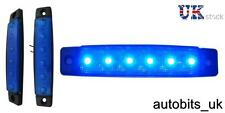 1 X 12V 12 VOLT LED BLU Indicatore Laterale Luce Posizione Camion Rimorchio Camion