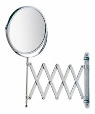 WENKO 6.3'' Exclusive Telescopic Arm Cosmetic Wall Mirror NEW IN BOX