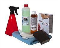 Reinigungs- und Pflegeset: HABiol 250 ml Holzpflegeöl, HARell Biocleaner,  ...