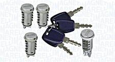 Lock Cylinder Kit Set 4 pcs 2 Doors 1 Side 1 Rear Fits FIAT Doblo Cargo 01-10