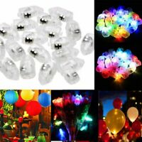50PCS LED Balloons Lights Ballons Lamp Birthday Christmas Party Decoration
