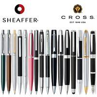 SHEAFFER & CROSS Writing Pen Sets GIFT BOX Ballpoint Fountain Rollerball Pencils
