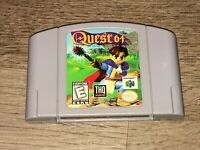 Quest 64 Nintendo 64 N64 Cleaned & Tested Authentic