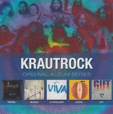 Krautrock Vol. 1 / Parzival, Asterix, La Düsseldorf, Gift u.a. (5 CDs,NEU!OVP)