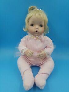 "Ashton Drake Doll 14"" Dianna Effner Sugar Plum Blonde Baby Doll 1993"
