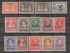 Maroc Espagnol 1926 Série Complète (Pro Cruz Roja Espagnola) Edifil 91 à 104  N*