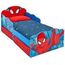 Lit enfant Spiderman lumineux avec rangements - Livraison gratuite FR