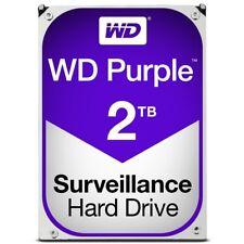 """WD Purple 2TB Surveillance Hard Drive AV 3.5"""" 2TB 64MB SATA 6Gb/s WD20PURZ"""