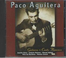 CD: PACO AGUILERA - Guitarra & Canto Flamenco