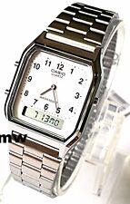 Authentic Casio Digital Analog Alarm Man Watch AQ230 AQ230GA AQ-230A-7B FreeShip