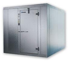 Master-Bilt Walk In Cooler 8x8 Indoor 7'6ft H w/ Floor & Refrigeration