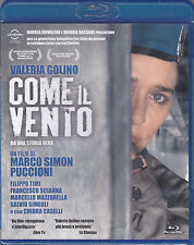 Blu-ray **COME IL VENTO** con Valeria Golino nuovo 2013