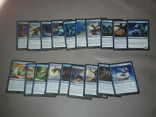 MTG Magic Origines lot de 19 cartes différentes - bleu VF