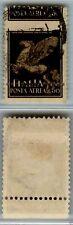 REGNO - 1930 - 50c BDF dentellatura orizzontale spostata in alto (11c Aerea) - U