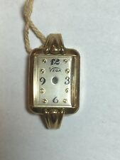 Vega lady's watch case with dial original store tag attached New never sold.