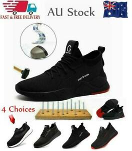 SAFETY SHOES TRAINERS WORK STEEL TOE CAP BOOTS SHOES MENS WOMENS HIKING SNEAKERS