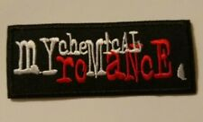 """My Chemical Romance~MCR~Embroidered PATCH~@ 3 3/4"""" x 1 1/2""""~Iron Sew On~Collect"""