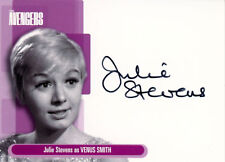 Avengers Definitive 1 Trading Card Collection Autograph Card A5 Julie Stevens