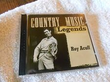 Country Music Legends Roy Acuff 2006 CBuJ Recordings Double Set          cd17