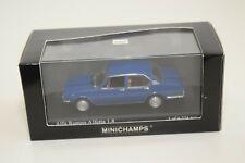 FF 1:43 MINICHAMPS ALFA ROMEO ALFETTA 1.8 1972 BLUE MINT BOXED